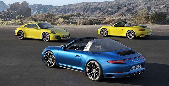 Los nuevos Porsche 911 2016 de tracción total