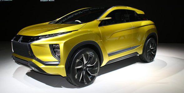 Nuevo Mitsubishi eX Concept en el Salón de Tokio 2015