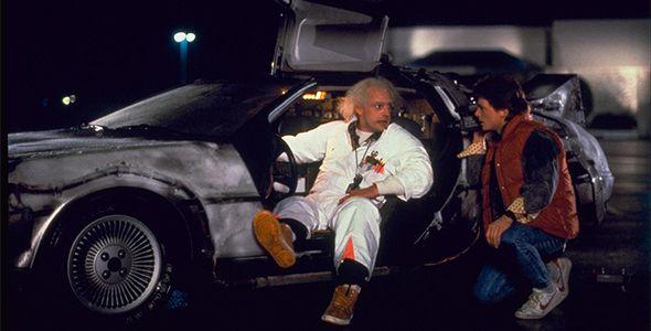 El día que el DeLorean llega al futuro
