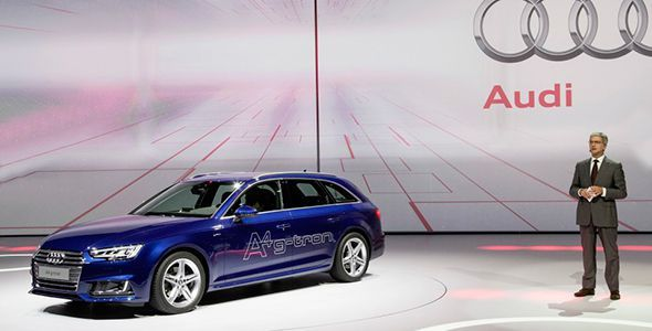 Nuevo Audi A4 Avant g-Tron 170 CV en 2016