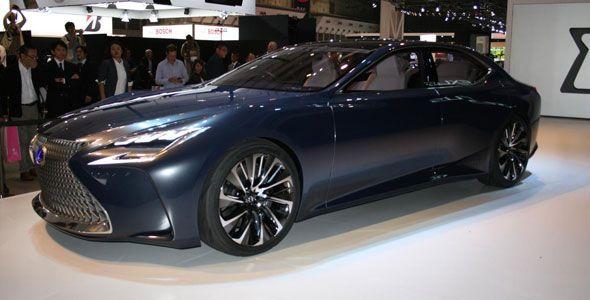 Nuevo Lexus LF-FC Concept en el Salón de Tokio 2015