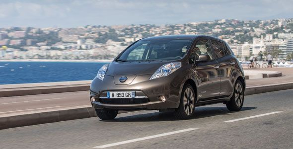 Presentación y prueba del Nissan Leaf 2016
