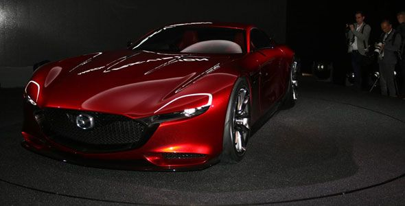Nuevo Mazda RX-Vision en Tokio 2015