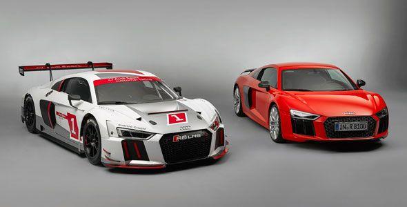 Nuevo Audi R8 LMS, variante de competición