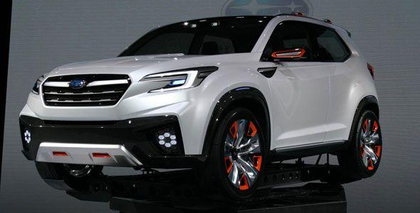 Subaru Viziv Future Concept, prototipo SUV para Tokio 2015