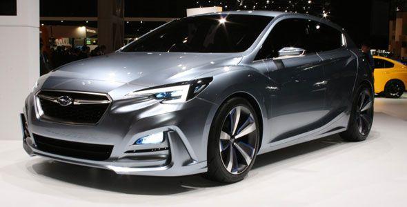 Subaru Impreza 5-door Concept: muy cerca de la realidad