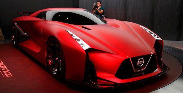 Nissan Concept 2020 Vision Gran Turismo en Tokio 2015