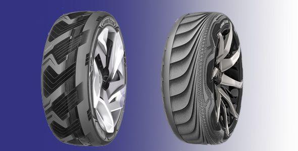 Goodyear presenta dos prototipos de neumático en el Salón de Tokio