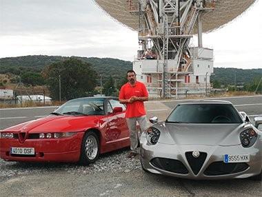 Vídeo comparativa Alfa Romeo 4C vs Alfa Romeo SZ