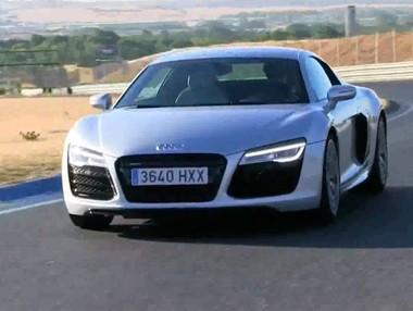 Vídeo prueba del Audi R8 V10