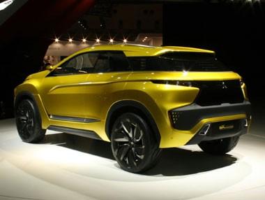 El Mitsubishi eX Concept en vídeo