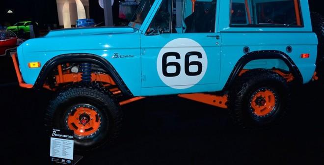 Lo retro está de moda en Los Ángeles 2015 Ford Bronco