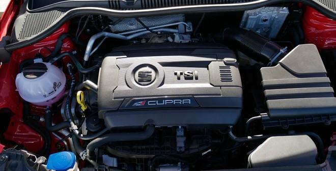 Presentación y prueba Seat Ibiza Cupra 2015, motor, Rubén Fidalgo