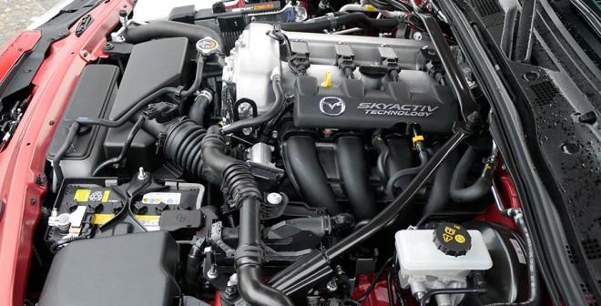 Prueba Mazda MX-5 2.0 Sport 2015, motor, Rubén Fidalgo