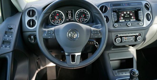 Prueba VW Tiguan 2.0 TDi 110 CV, interior, Rubén Fidalgo