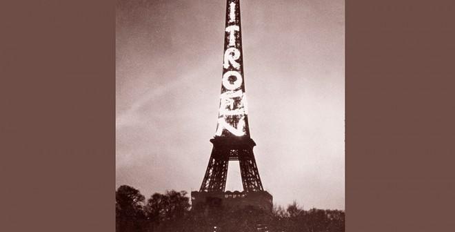 Rótulo luminoso Citroën Torre Eiffel