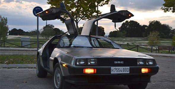 Una tarde con un coche de película: el DeLorean