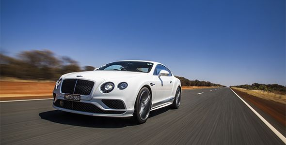 El Bentley Continental GT Speed 16MY, a todo gas