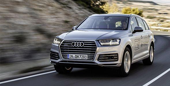 Así es el nuevo Audi Q7 e-tron quattro