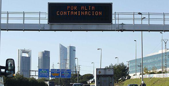 Así sería la restricción por matrículas en Madrid