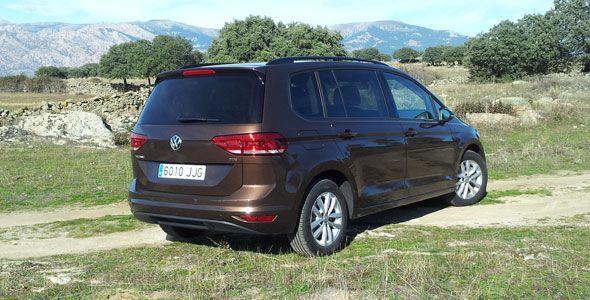 Presentación y prueba Volkswagen Touran 2016