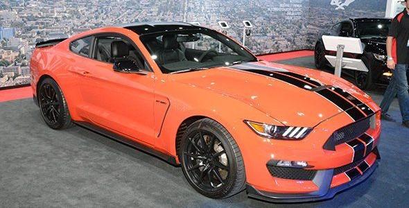 El Ford Mustang Shelby GT 350 en Los Ángeles 2015