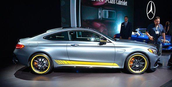 El Mercedes Clase C Coupé llega a Los Ángeles 2015
