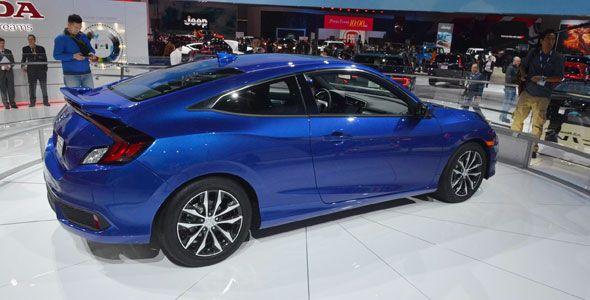 El Honda Civic Coupé se descubre en Los Ángeles