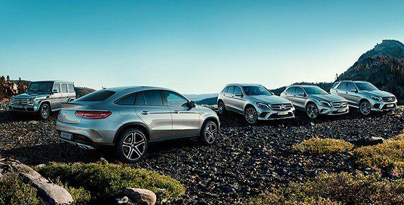 Presentación y prueba de la gama SUV de Mercedes Benz