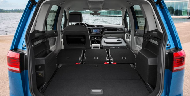 Maletero del nuevo Volkswagen Touran