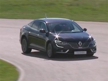 El Renault Talisman y Alain Prost en vídeo