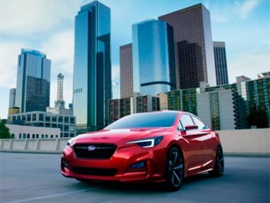 Vídeo: Subaru Impreza Sedan Concept