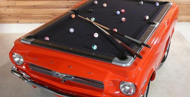 Mesa de billar Ford Mustang