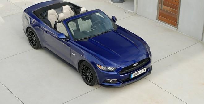 Prueba Ford Mustang V8 5.0 Cabrio 2015, Caión, Rubén Fidalgo