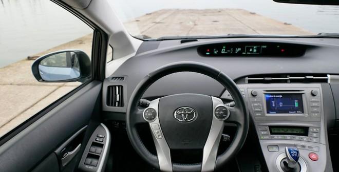 Prueba Toyota Prius Plug In híbrido enchufable, Santradán, Rubén Fidalgo
