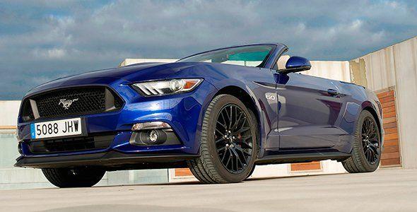 Prueba Ford Mustang GT Cabrio 5.0 V8 2015