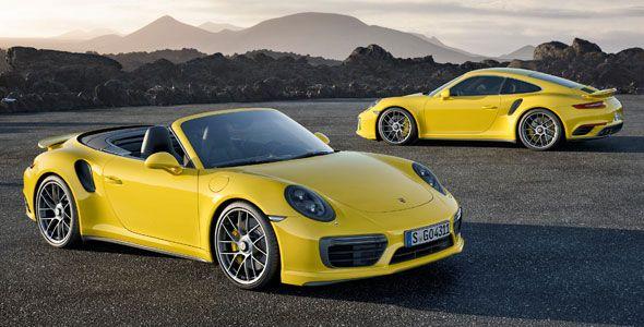 Nuevos Porsche 911 Turbo y Turbo S, más potencia y menos consumo