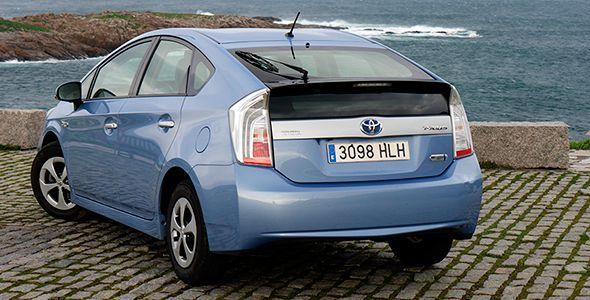 Prueba Toyota Prius Plug In híbrido enchufable