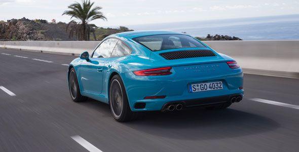 Presentación y prueba Porsche 911 Carrera S