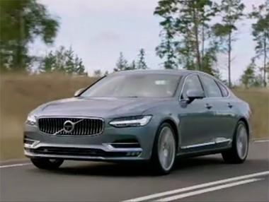 Los detalles del Volvo S90 2016 en vídeo