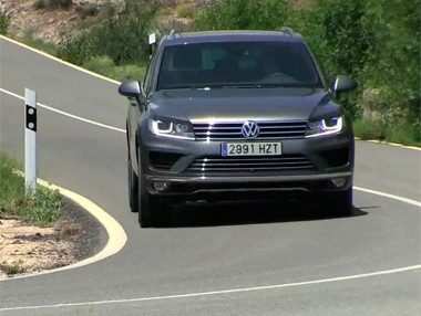Vídeo prueba Volkswagen Touareg V6 TDi Bluemotion 2014