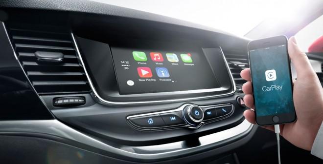 Sistema multimedia Opel Astra