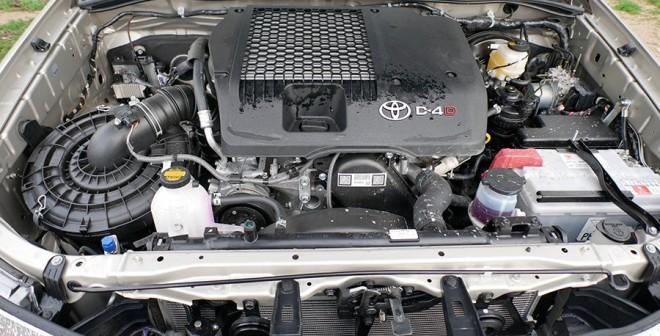 Prueba Toyota Hilux 2015, mecánica, Rubén Fidalgo