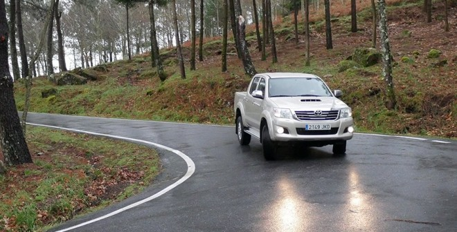 Prueba Toyota Hilux 2015, Vigo, Rubén Fidalgo