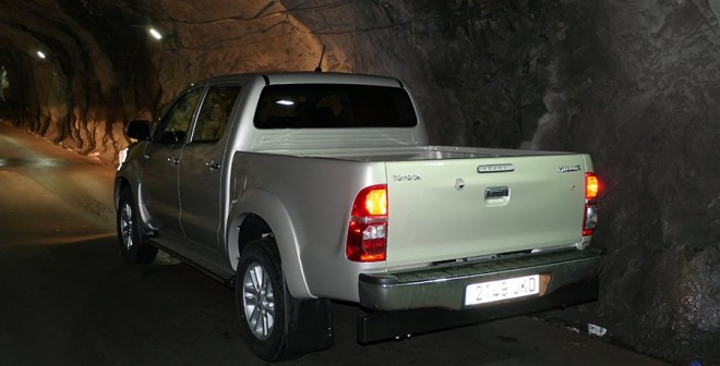 Prueba Toyota Hilux 2015, Santa Lucía, Rubén Fidalgo