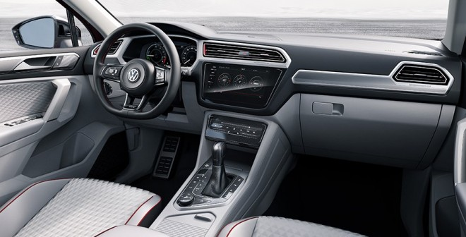 VW Tiguan GTE Concept Detroit NAIAS 2016
