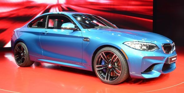 El BMW M2 debuta en el Salón de Detroit 2016