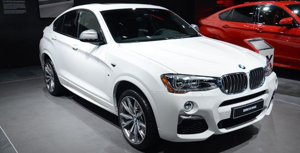 El BMW X4 M40i primicia en el Salón de Detroit 2016