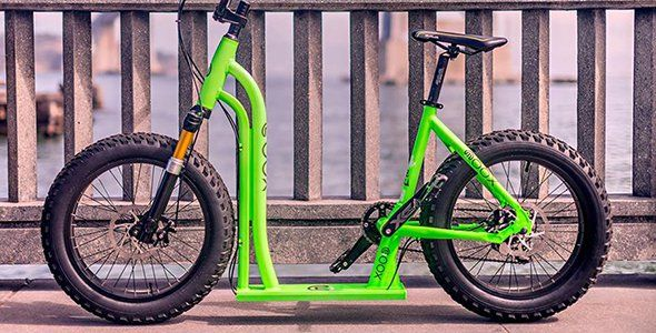 Moox Bike: bici y patinete
