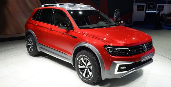 El VW Tiguan GTE debuta en Detroit 2016